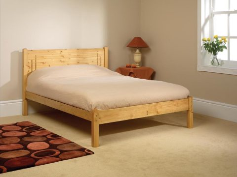 pine bed manufacturer vegas low foot end
