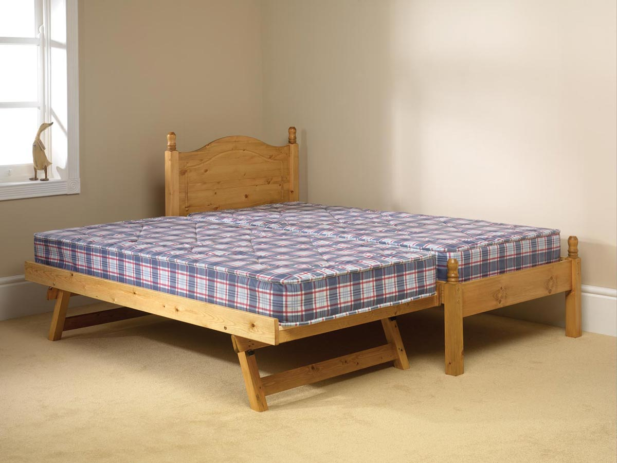 Expanding Bed. Pine Bed Manufacturer Guest Pull Out Bed