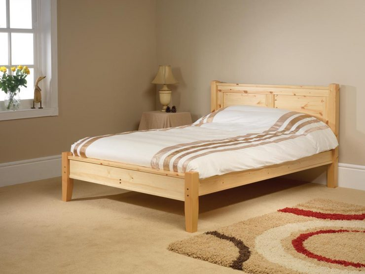 Pine bed manufacturer. Conniston style