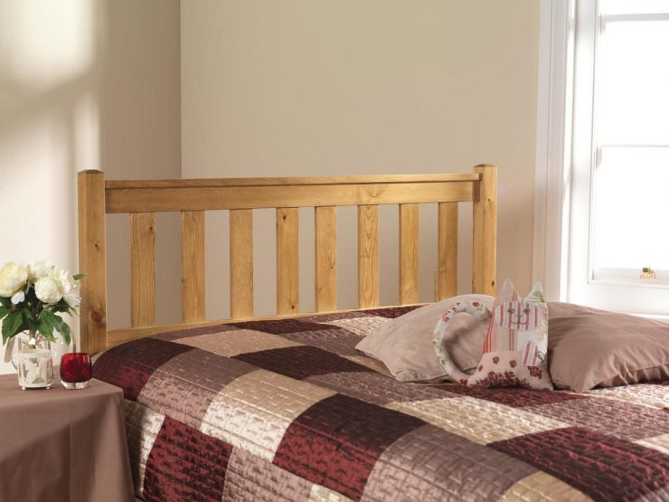 Pine bed manufacturer headboard
